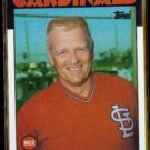 WHITEY HERZOG 1986 Topps #441.  CARDS