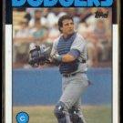 MIKE SCIOSCIA 1986 Topps #468.  DODGERS