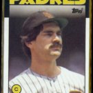 BRUCE BOCHY 1986 Topps #608.  PADRES