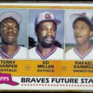 TERRY HARPER 1980 Topps Future Stars #192.  BRAVES