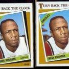 FRANK ROBINSON (2) 1986 Topps Turn Back The Clock #404.  ORIOLES