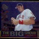TIM SALMON 1997 UD CC Dan Patrick (The Big Show) Foil Insert #13/45.  ANGELS