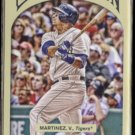 VICTOR MARTINEZ 2011 Topps Gypsy Queen #93.  TIGERS