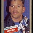 ANDRE REED 1991 Fleer All Pro Insert #1 of 26.  BILLS