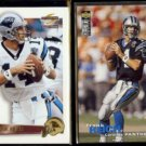FRANK REICH 1995 Pinnacle Summit #14 + 1995 UD CC Update #U94.  PANTHERS