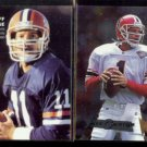 JEFF GEORGE 1990 Star Big League + 1995 Metal #10.  COLTS / FALCONS