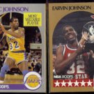 MAGIC JOHNSON 1990 Hoops #157 MVP + #18 All Star.  LAKERS