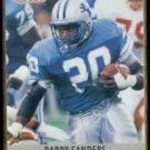 BARRY SANDERS 1990 Pro Set #102.  LIONS