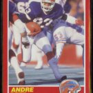 ANDRE REED 1989 Score #152.  BILLS