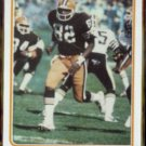 OZZIE NEWSOME 1983 Topps In Action #68.  BROWNS