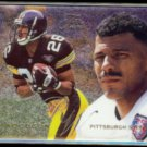ROD WOODSON 1995 Flair Preview Insert #25 of 30.  STEELERS