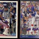 ANDRE REED 1993 Bowman #386 + 1993 Upper Deck SP #33.  BILLS