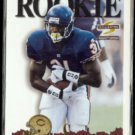 RASHAAN SALAAM 1995 Pinnacle Summit Rookie #173.  BEARS