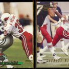 AENEAS WILLIAMS 1993 Stadium Club #155 + 1994 Pacific #314.  CARDS