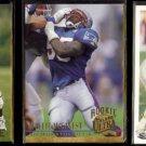 WILLIE McGINEST (3) Card Lot (1994 + 2000) w/ Rookies.  PATRIOTS