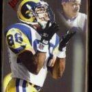 EDDIE KENNISON 1998 Playoff Absolute Rookie #195.  RAMS