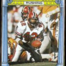 GERALD RIGGS 1987 Topps 1000 Yard Club #8.  FALCONS