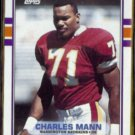 CHARLES MANN 1989 Topps #257.  REDSKINS