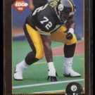 LEON SEARCY 1992 Edge #192.  STEELERS