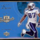KEVIN DYSON 2003 UD Pros & Prospects #88.  PANTHERS