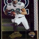 JIMMY SMITH 2002 Playoff Absolute #69.  JAGUARS