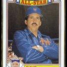 DAVEY JOHNSON 1988 Topps All Star Glossy #12 of 22.  METS