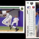 DEION SANDERS (2) 1991 Upper Deck #743.  BRAVES