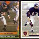 TOM WADDLE 1992 Ultra #49 + 1992 Upper Deck #471.  BEARS