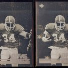 THURMAN THOMAS (2) 1991 Upper Deck Game Breakers Hologram Inserts.  BILLS