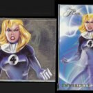 INVISIBLE WOMAN 1994 Flair (Power Blast) Insert #17 of 18.