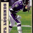 DEION SANDERS 2004 Upper Deck Legends #7.  RAVENS