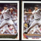 ROGER CLEMENS 1993 Topps GOLD Insert w/ sister #4.  RED SOX