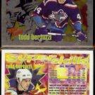 TODD BERTUZZI (2) 1995 Topps Super Skills Rookie Insert #SR7.  ISLANDERS