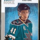 LOGAN COUTURE 2009 Upper Deck Victory Rookie #329.  SHARKS