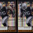 DARRIUS HEYWARD-BEY (2) 2012 Panini Absolute #71.  RAIDERS