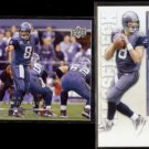 MATT HASSELBECK 2008 Upper Deck + 2010 Panini Playoff Contenders.  SEAHAWKS