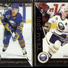 ALEXANDER MOGILNY 1992 Pinnacle Team 2000 + 1993 Team 2001 Inserts.  SABRES