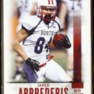 JARED ABBREDERIS 2014 Sage Hit Rookie #4.  WISCONSIN