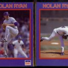 NOLAN RYAN (2) 1990 Starline Coca Cola #'s 13 + 26 of 40.  RANGERS