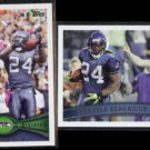SEAHAWKS Team Cards (2) 2012 #161 + 2011 Topps #137.