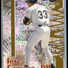 JOSE CANSECO 2000 Pacific Revolution Prism #137.  DEVIL RAYS