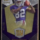 MARIO MANNINGHAM 2008 UD Icons Rookie Brilliance #'d Insert 601/799.  GIANTS