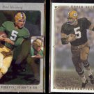 PAUL HORNUNG 2013 UD SP Authentic Insert + 2008 UD Masterpieces.  IRISH / PACKERS