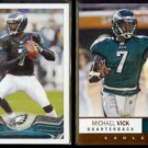 MICHAEL VICK 2013 Topps #76 + 2012 Panini Absolute #72.  EAGLES