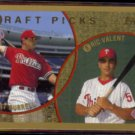 PAT BURRELL 1999 Topps Rookie #444.  PHILLIES