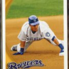CARLOS GOMEZ 2010 Topps #116.  BREWERS