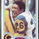 WENDELL TYLER 1982 Topps #385.  RAMS