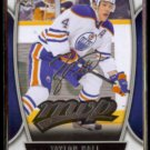 TAYLOR HALL 2013 Upper Deck MVP Silver Signature Insert #4.  EDM OILERS