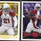 PATRICK PETERSON 2013 Topps Magic #94 + 2012 Topps AP #288.  CARDS