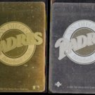 SAN DIEGO PADRES 1992 Upper Deck GOLD Hologram Logo + 1991 Silver Inserts.  Blank white backs